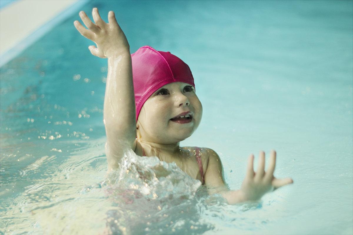 Маленькая спортсменка - Юля Колосова