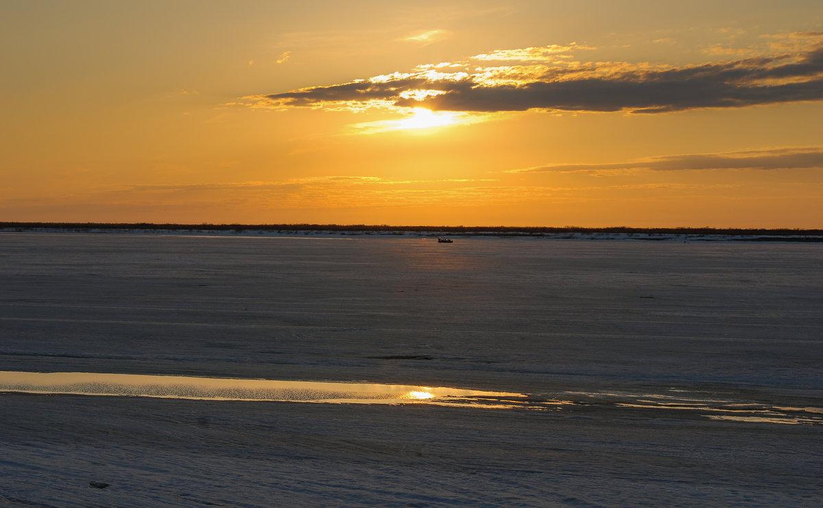 Река Печора в ожидании ледохода!!!! - Олег Кулябин