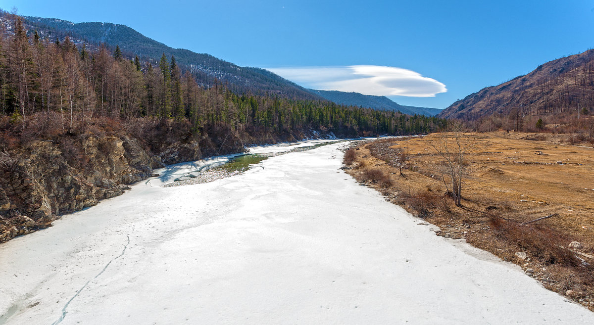 Крепкий лёд сковал реку - Анатолий Иргл