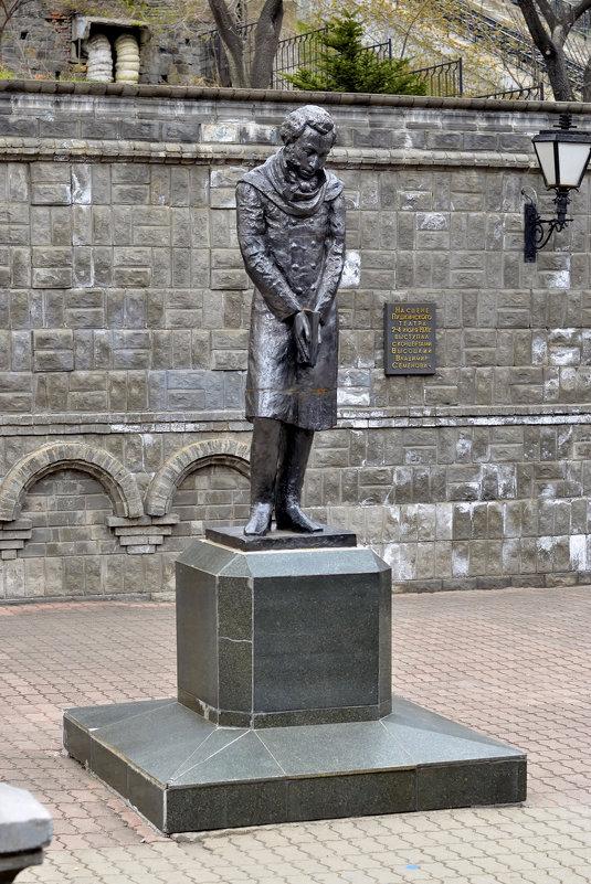Памятник А. С. Пушкину (Владивосток) - Александр Морозов