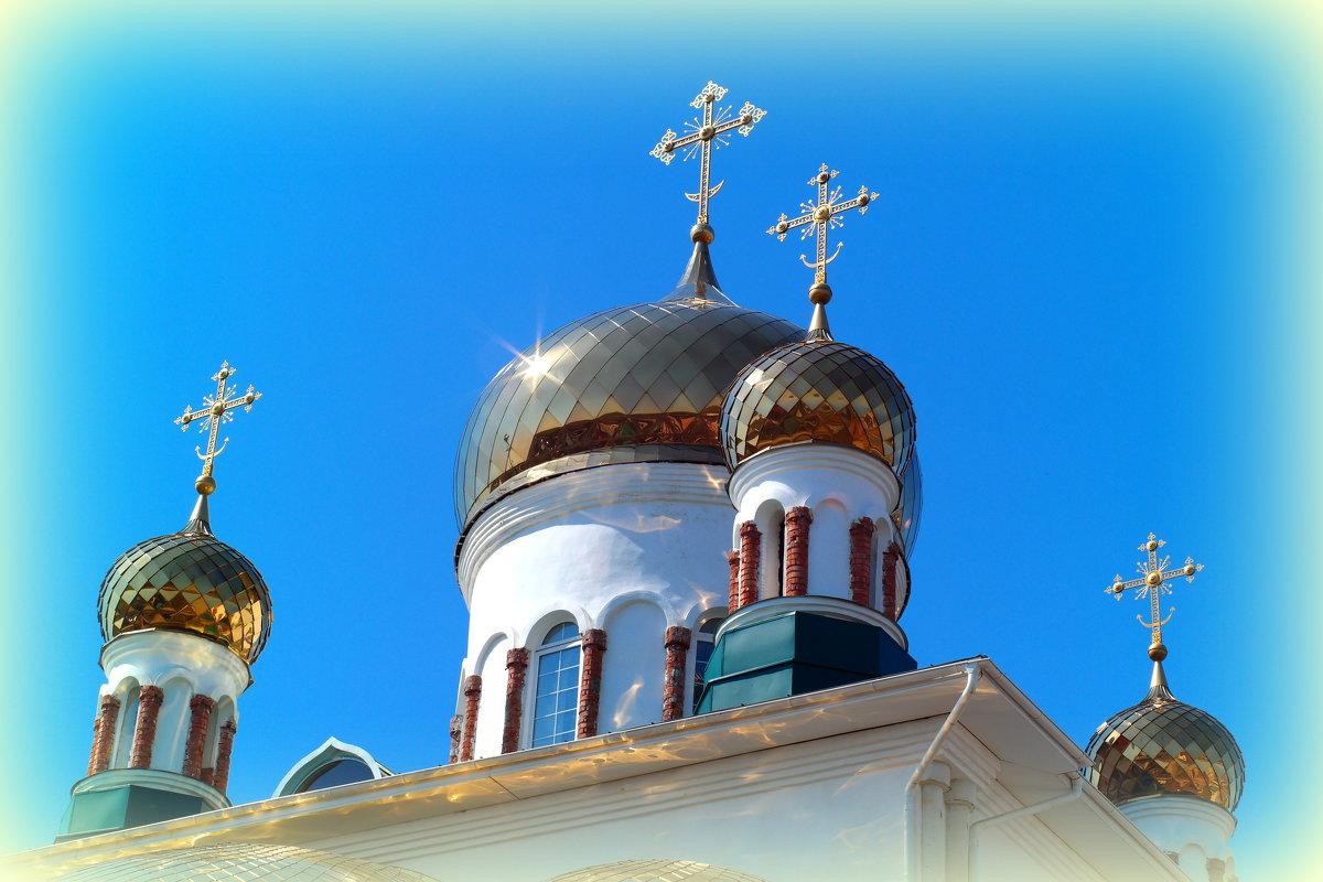 Купола в России кроют золотом.. - Андрей Заломленков