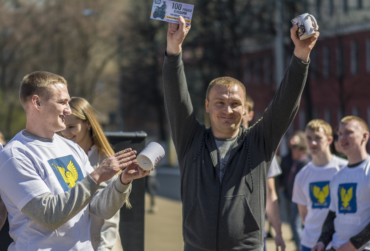 Победитель - Юрий Митенёв
