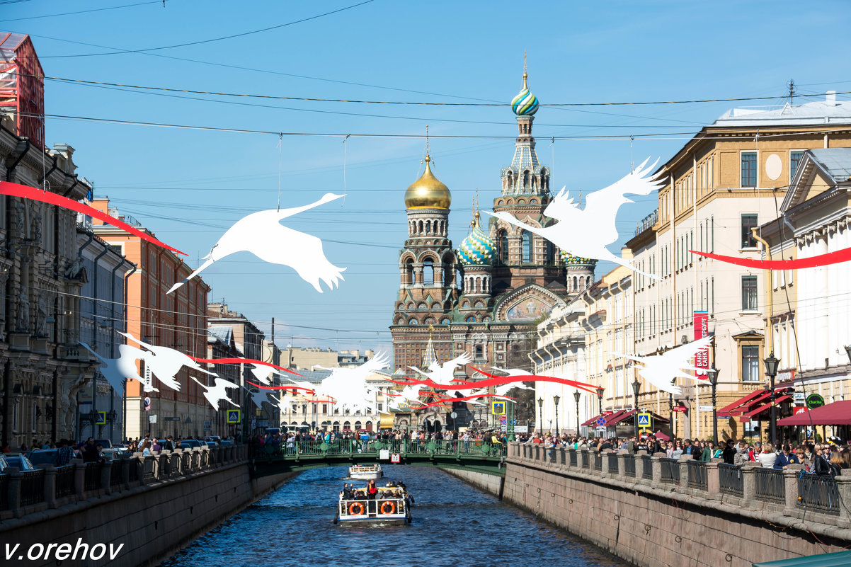 СПб  1 мая 2016 - Виктор Орехов