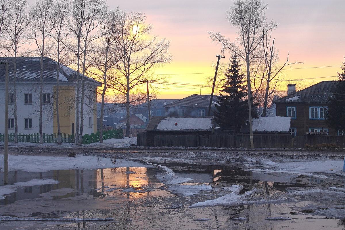 красивое бездорожье в Сибири - Мария К