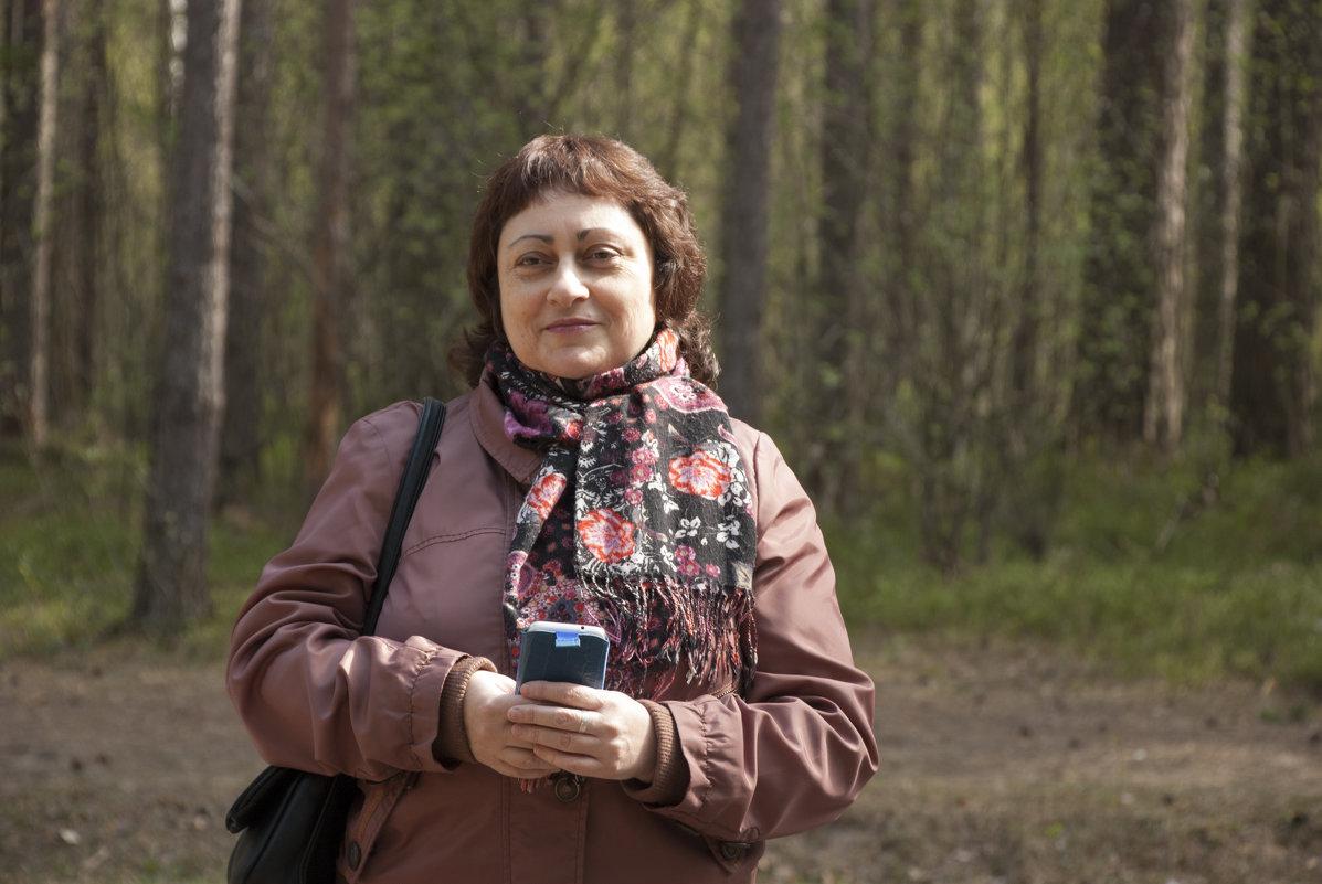 в парке - Павел Серов