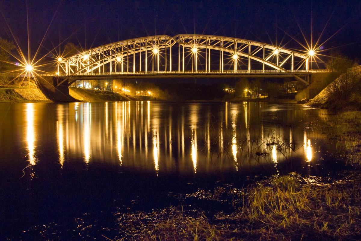 Мост Белелюбского. г.Боровичи - вадим климанов