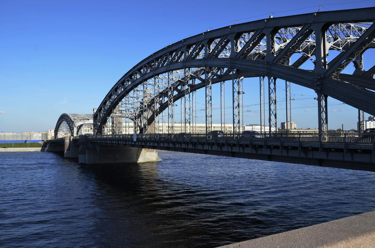 Большеохтинский мост (он же ныне Петра Великого) - Михаил Радин