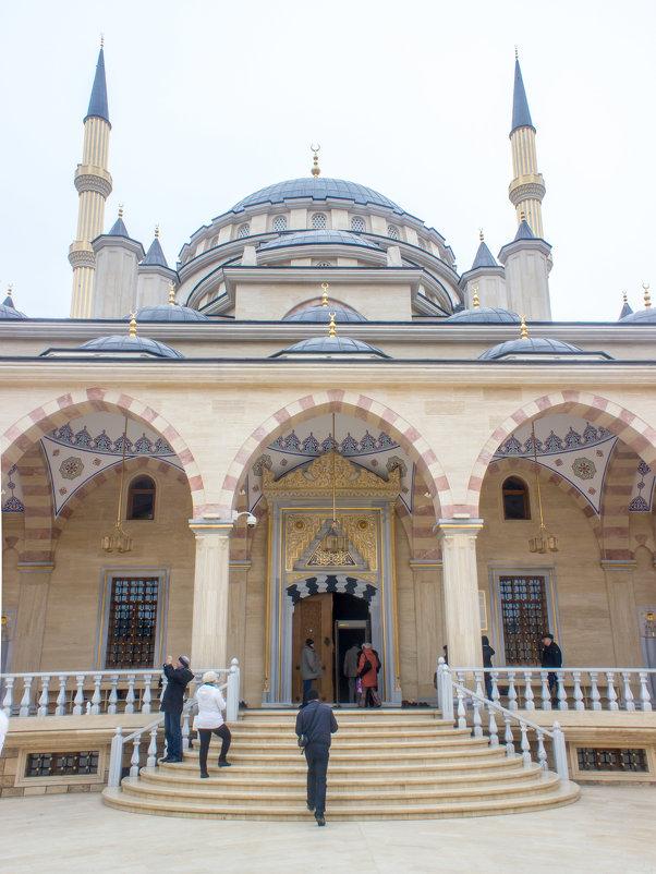 IMG_1105 Грозный, вход в мечеть - Олег Петрушин