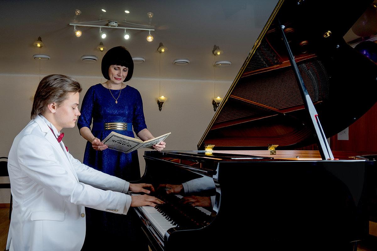 Учитель и ученик - Ирина Ю