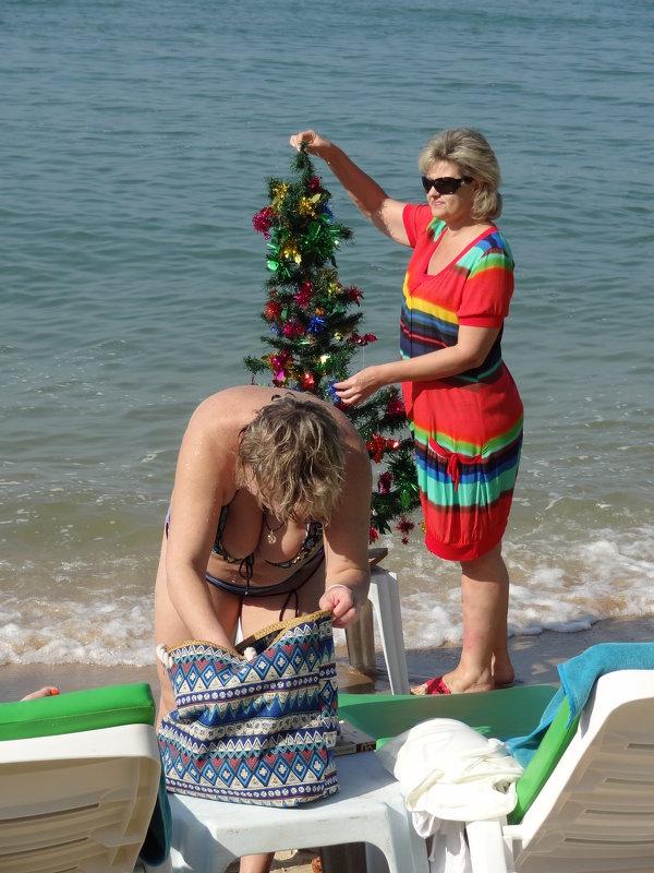 Новый год на пляже. - Наталья Иванова