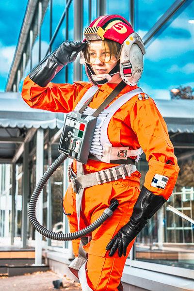 Пилот X-wing - Куницына Вероника