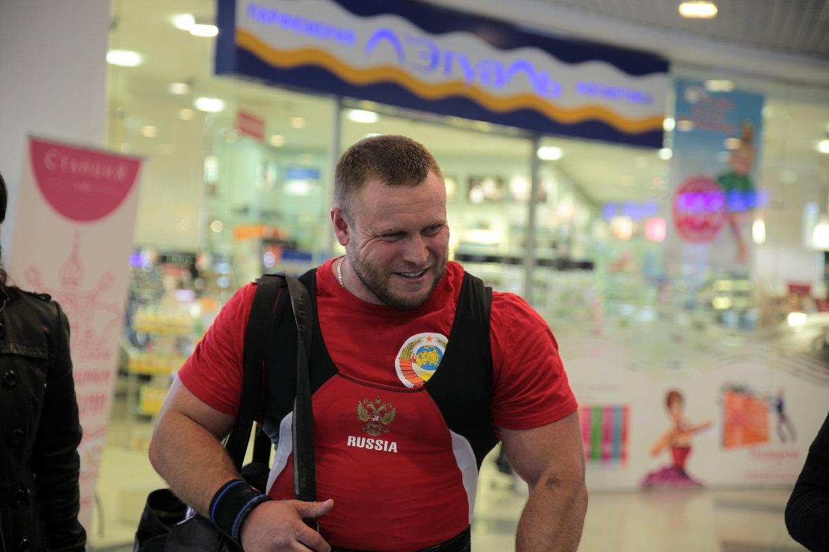 призёр  первого чемпионата НАП Россия - Александр Орлов