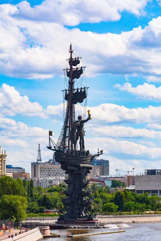 Памятник Петру Первому на Москве-реке - Галина Кубарева