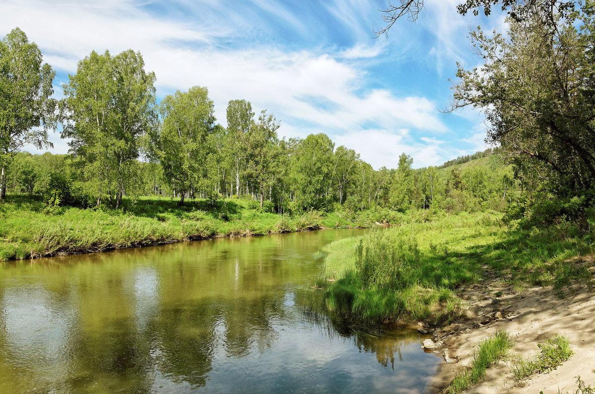 Река Бердь - Дмитрий Конев