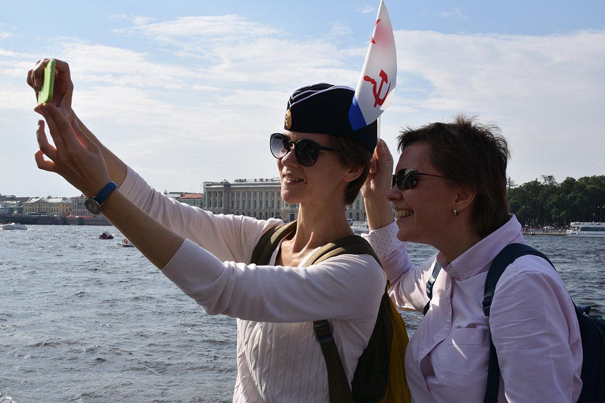 Селфи на день ВМФ - VL