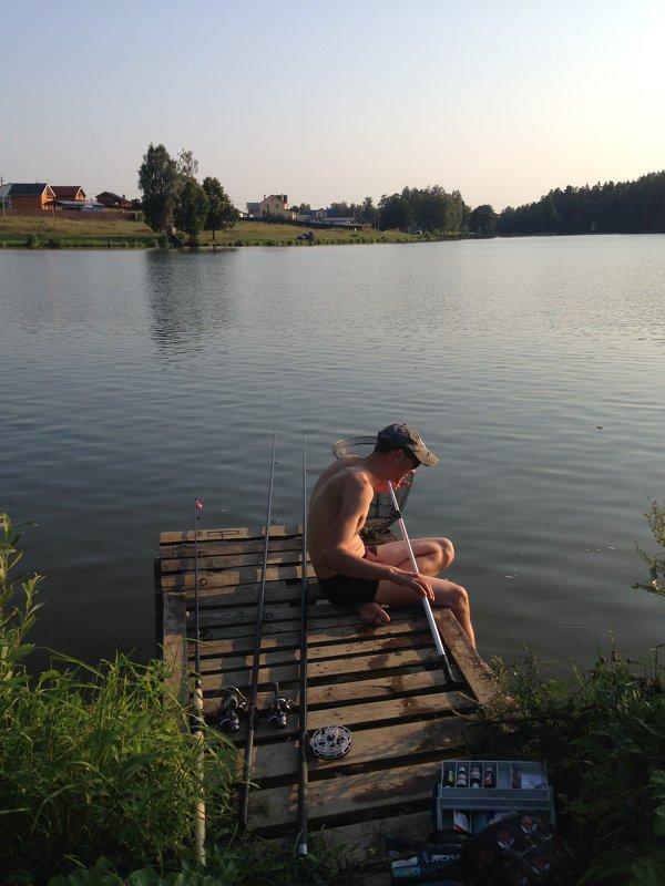 рыбалка в подмосковье голыгино
