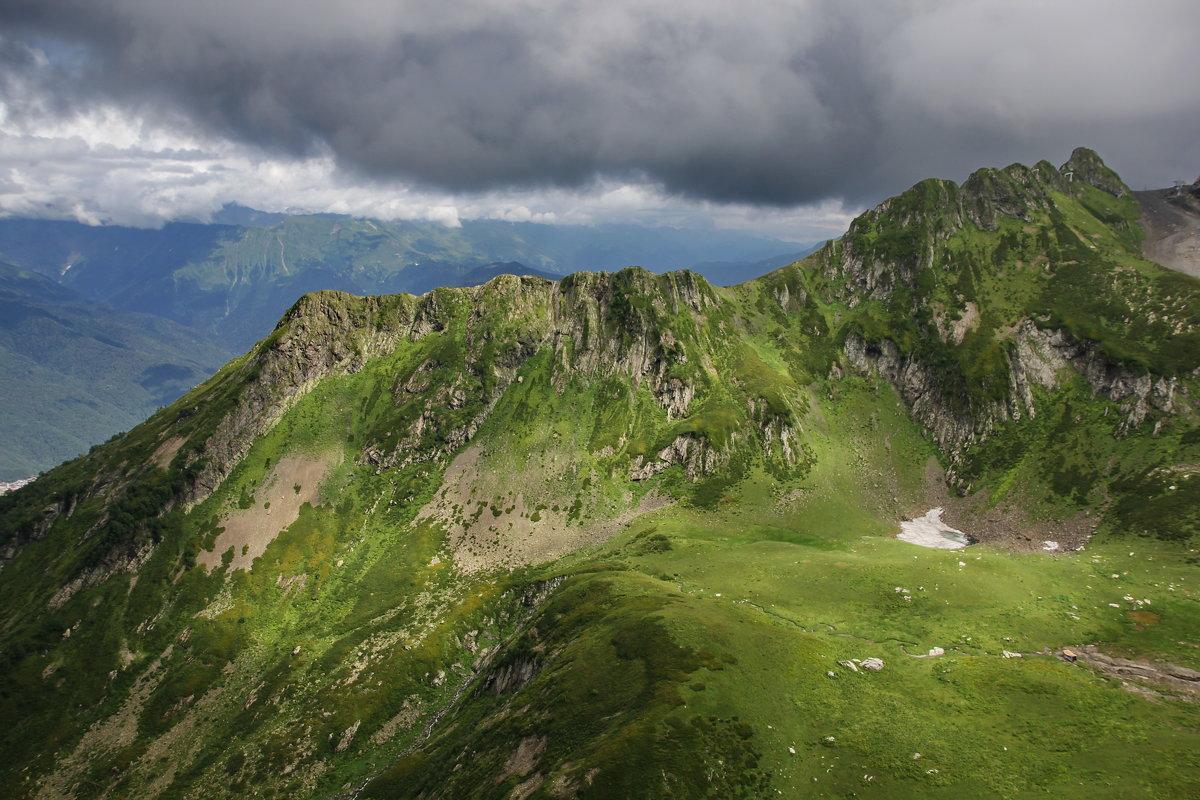 Август в горах... - Виолетта