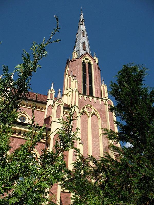 Троицкий  костел в д.Гервяты, Беларусь - Irina