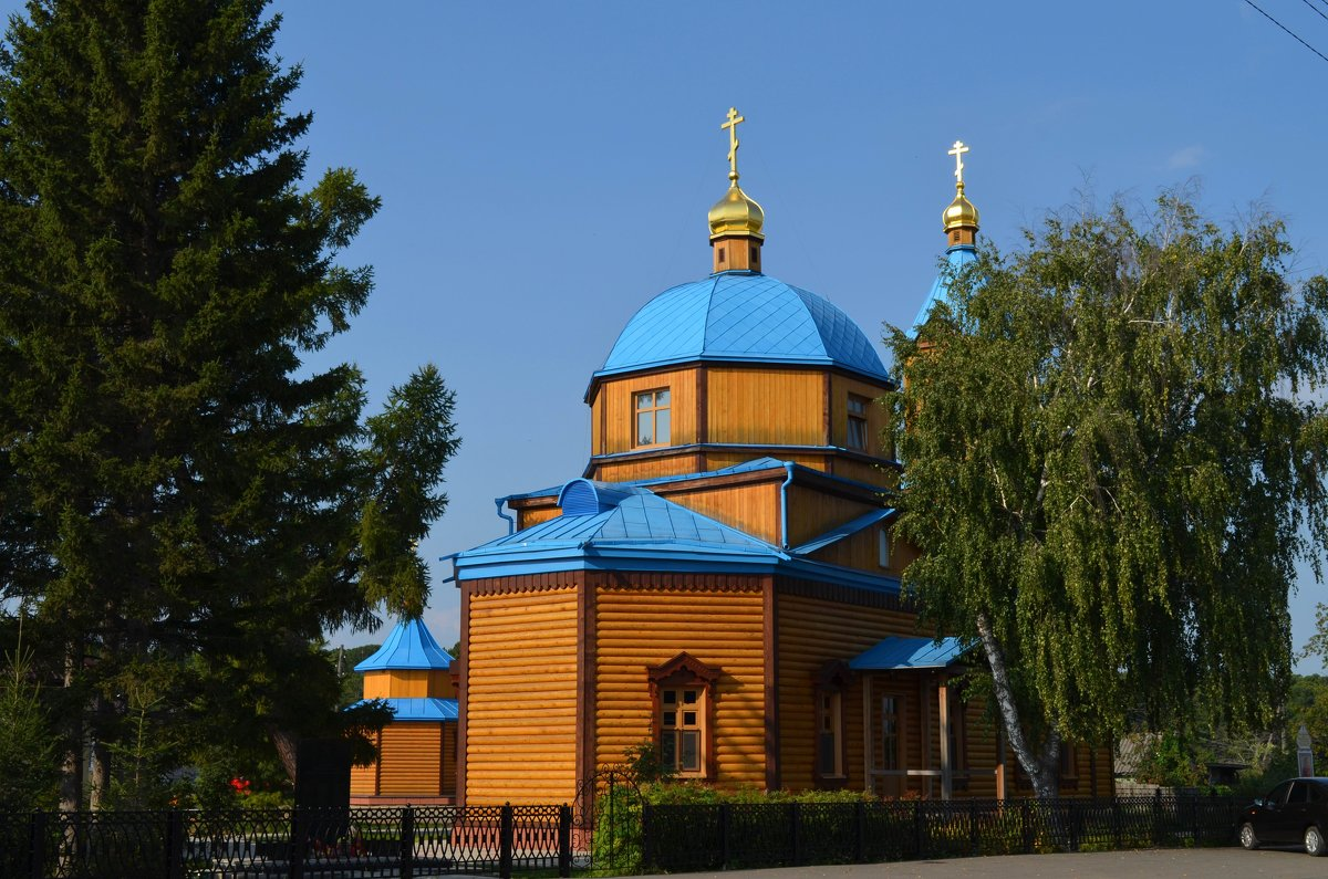 Сельская церковь - Вера Андреева