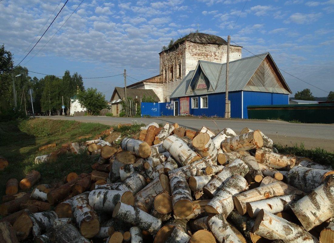 Утро с дровами - Валерий Чепкасов