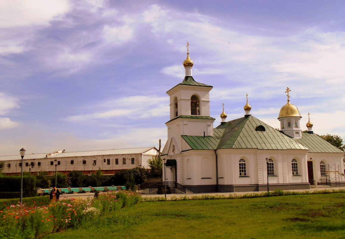 Молельный дом в Свято Троицком монастыре . - Мила Бовкун