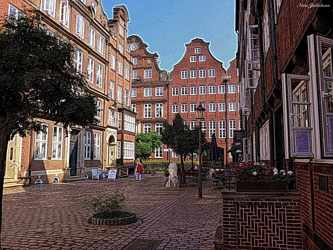 Гамбург - Nina Yudicheva