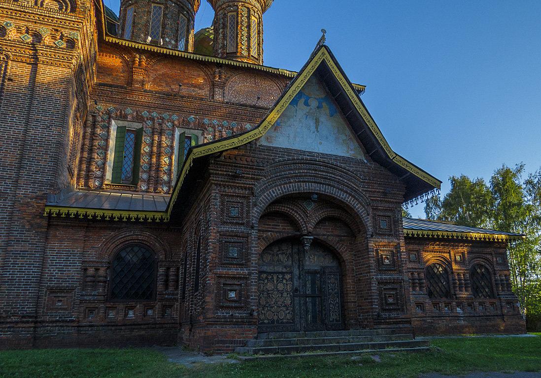 Церковь Иоанна Предтечи в Ярославле,1671-1687г.г. - Сергей Цветков