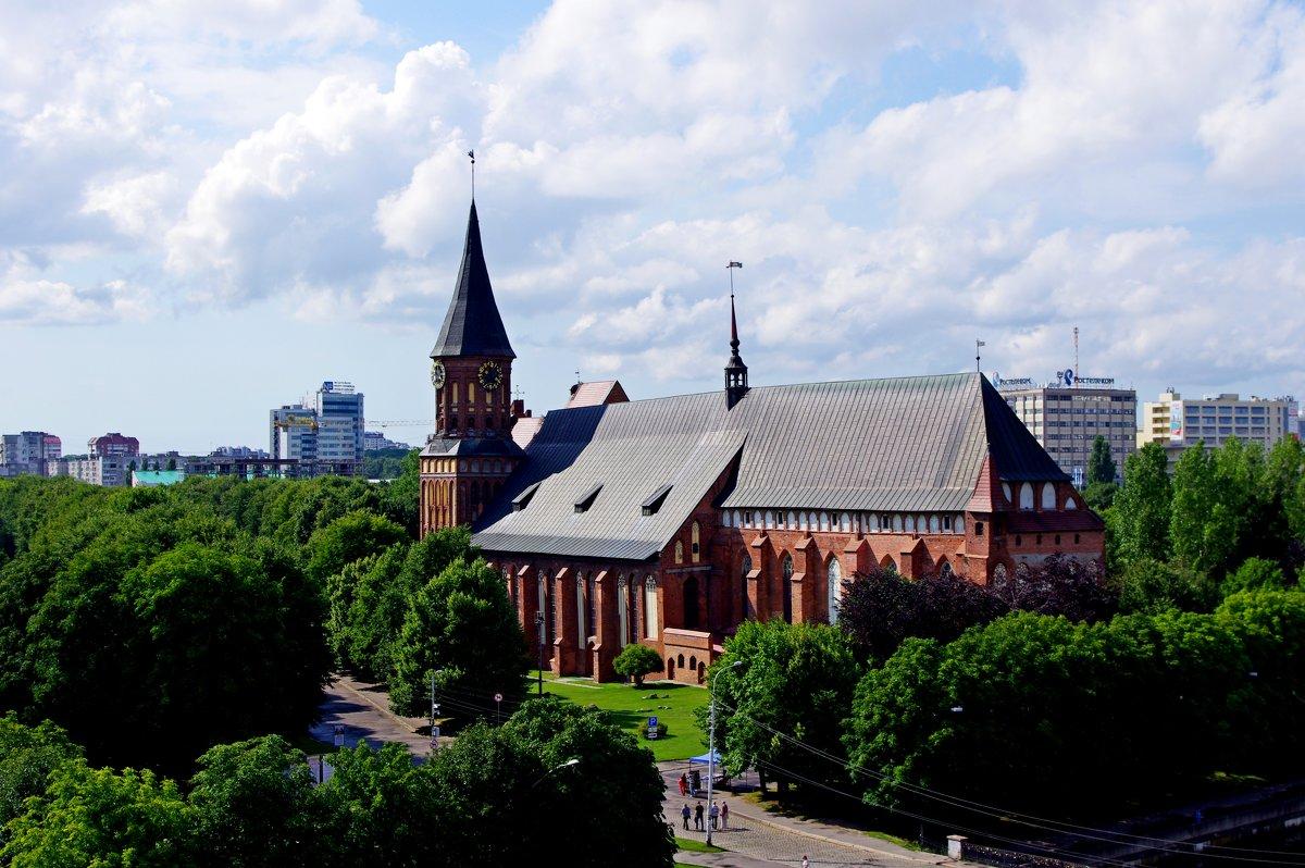 Калининград. Кафедральный собор - Евгений Клинков