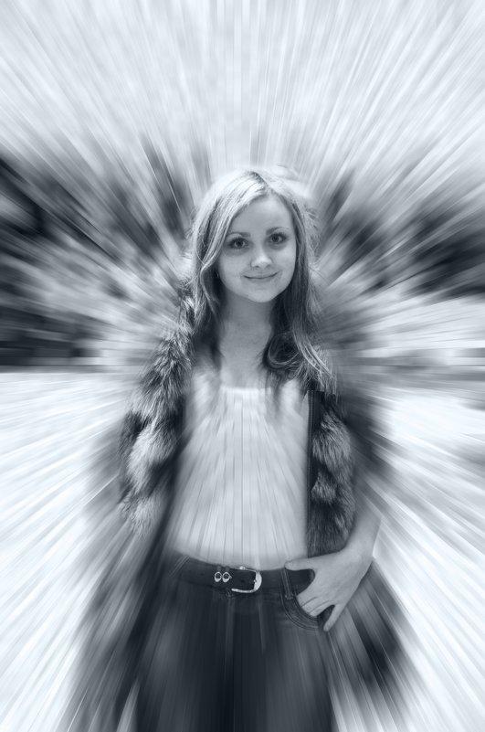 Портрет молодой девушки - Дубовцев Евгений