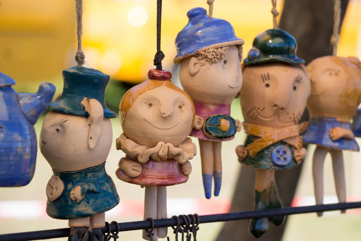 Глиняные игрушки - К Елена