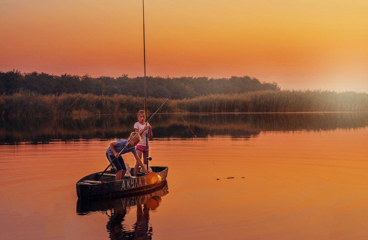Детство на реке - LNemykina