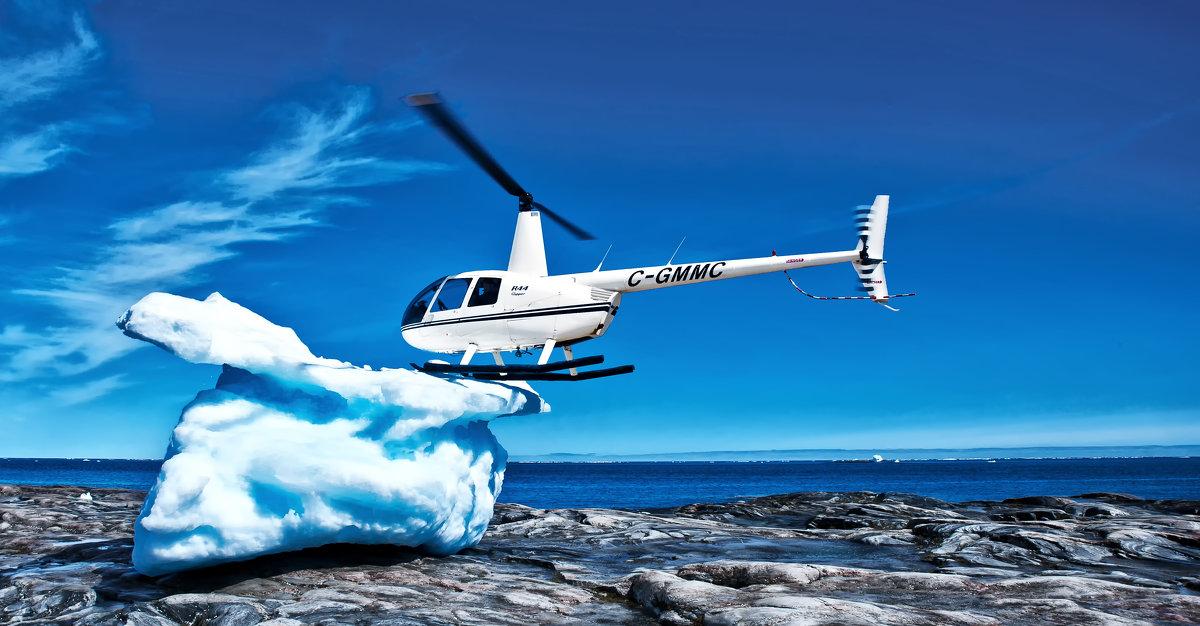 Вертолет и айсберг - Alexander Dementev