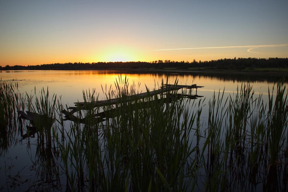 Вечер на озере - Юрий Кольцов
