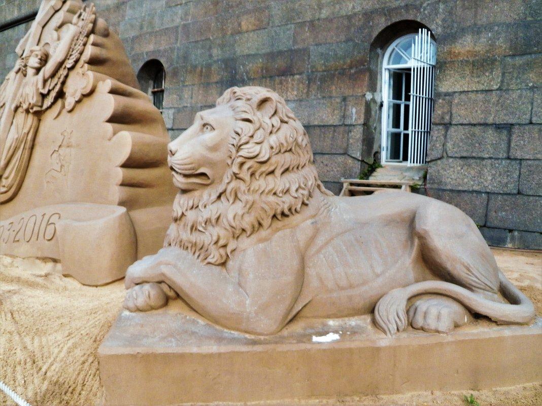 Выставка песчаных скульптур в Петропавловской  крепости  С -Петербурга - Виктор Елисеев