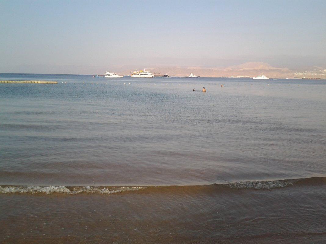 Красное море ранним утром. - Жанна Викторовна