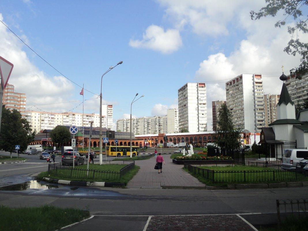 Мощное пробуждение Подмосковных городов. - Ольга Кривых