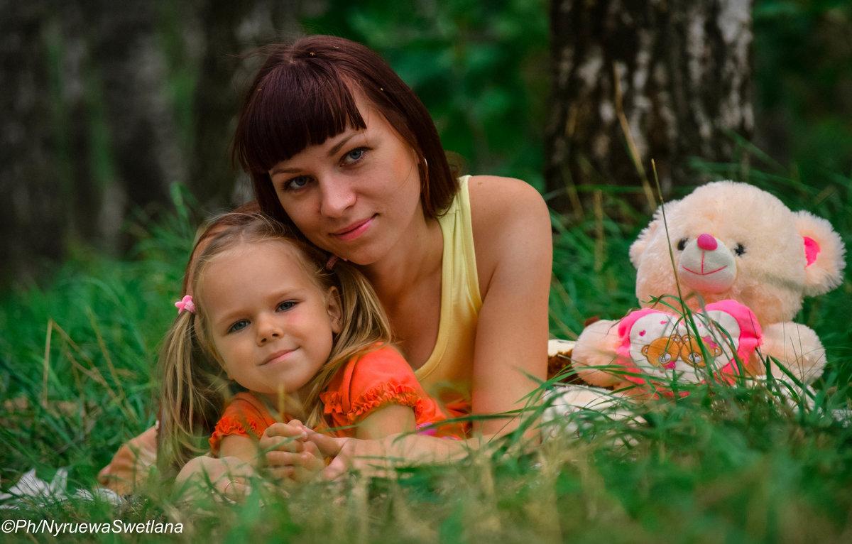 мама и дочь - Лана Нурыева