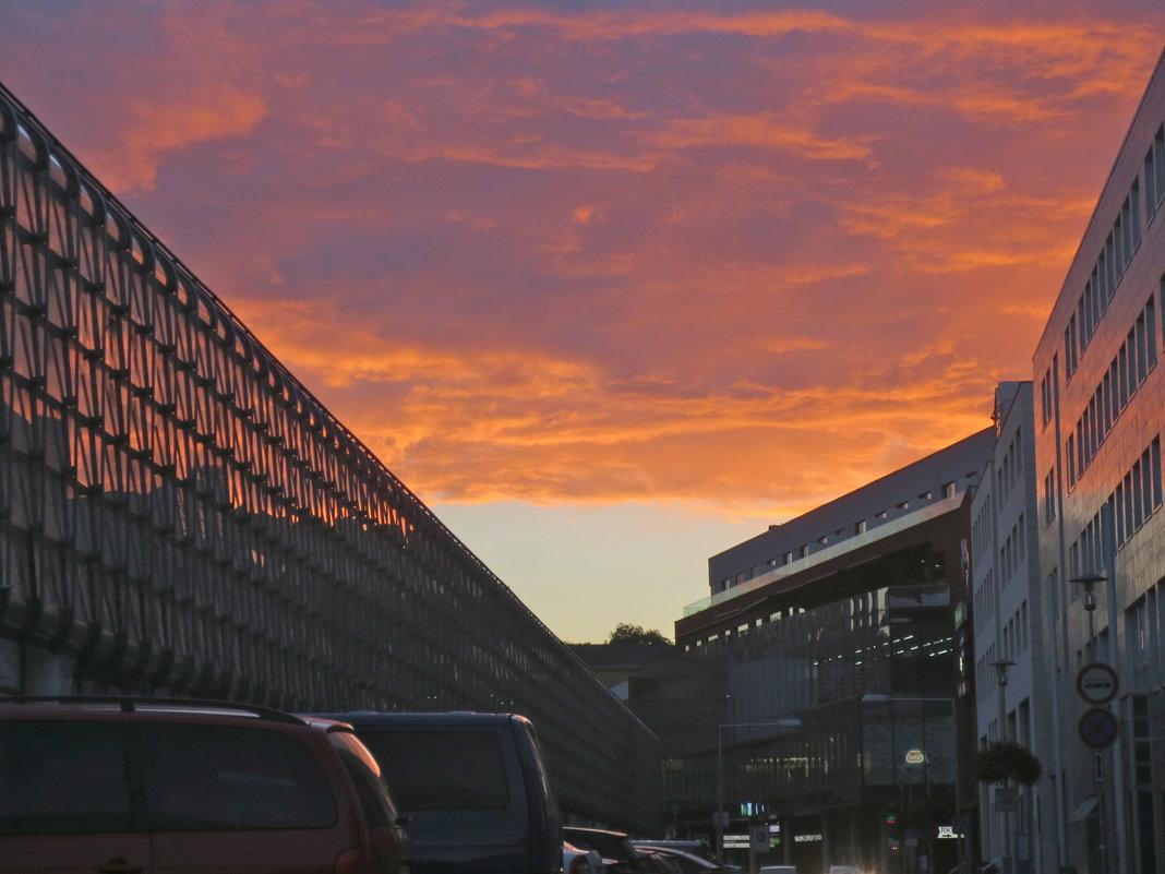 закат над Теплице - Елена