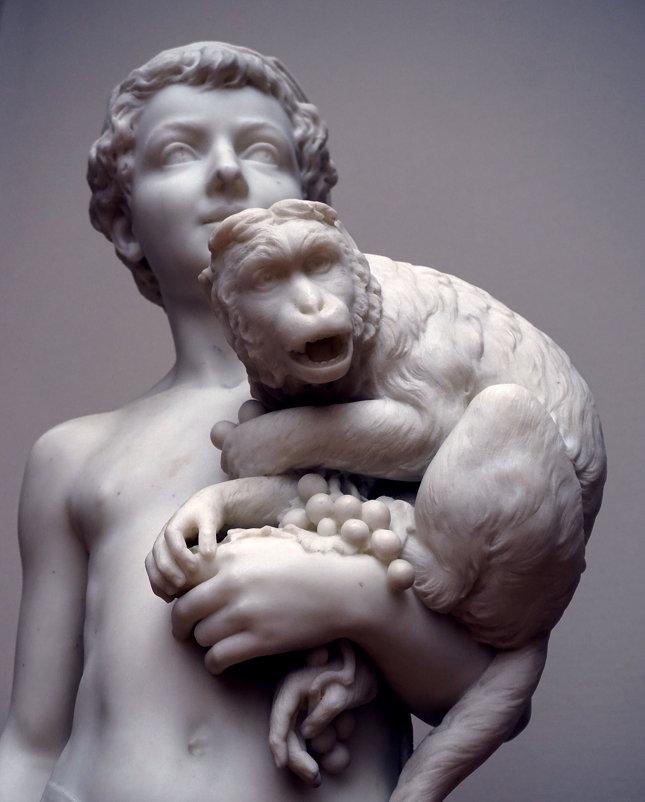 Мальчик-неаполитанец с обезьяной ... - Лариса Корженевская