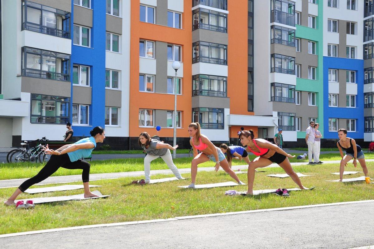 дворовая гимнастика - bugimen bu