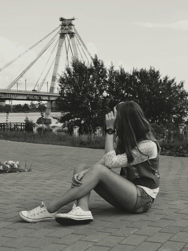 ч/б тоже красиво смотрится - Анастасия Фёдорова