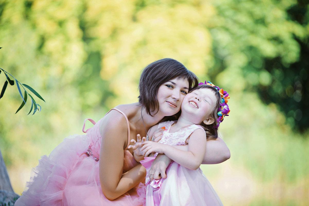 Мама с дочуркой - марина алексеева