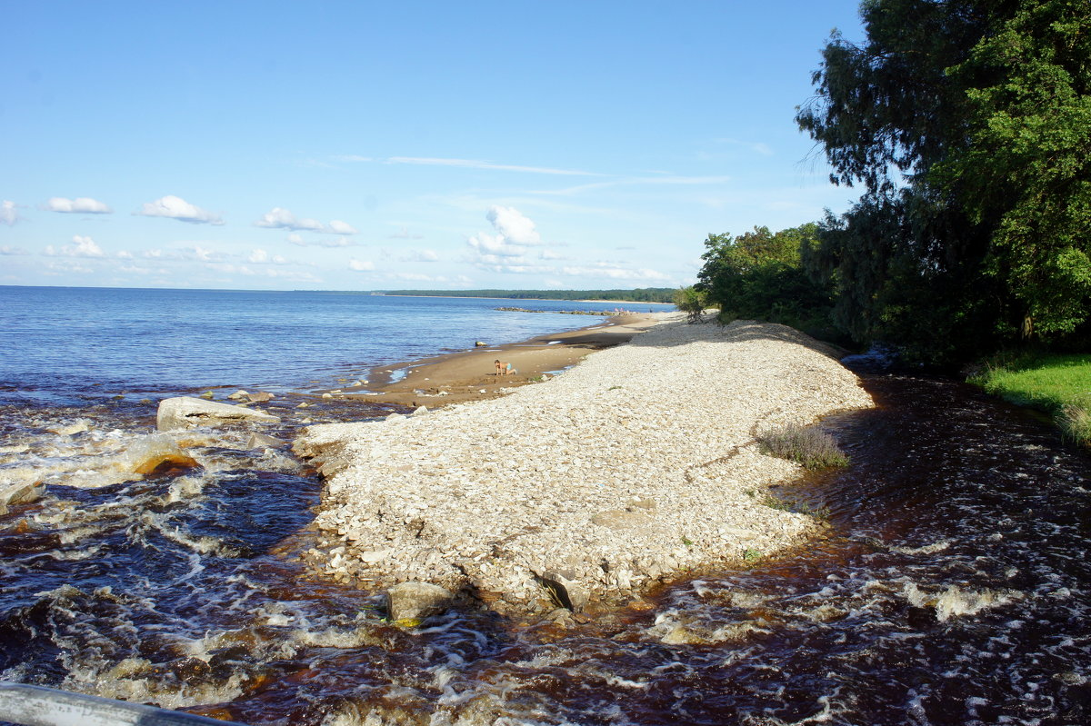 Удивительное рядом, море и река — редкое соседство - Елена Павлова (Смолова)
