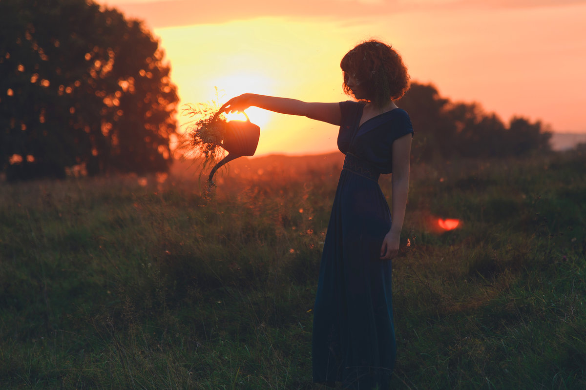 sunset - Василиска Переходова