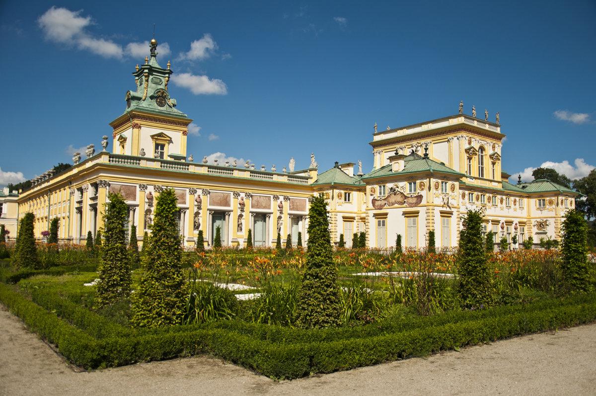 Wilanow Palace again - Roman Ilnytskyi