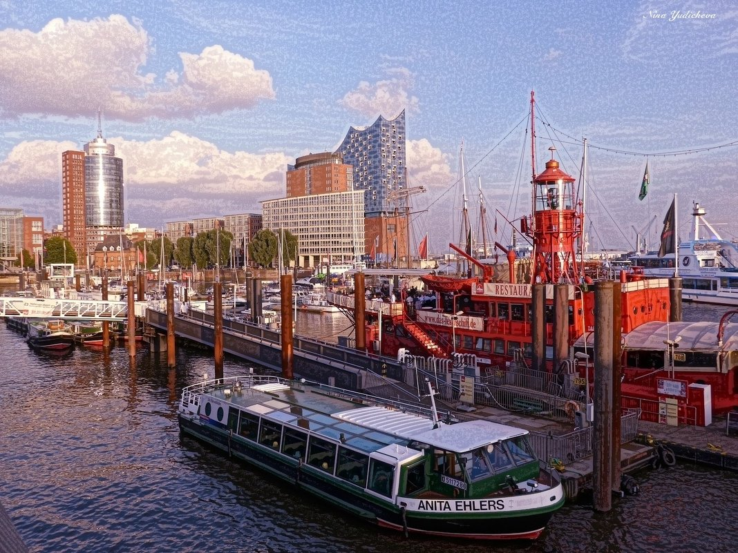 Hamburg.Hafen - Nina Yudicheva