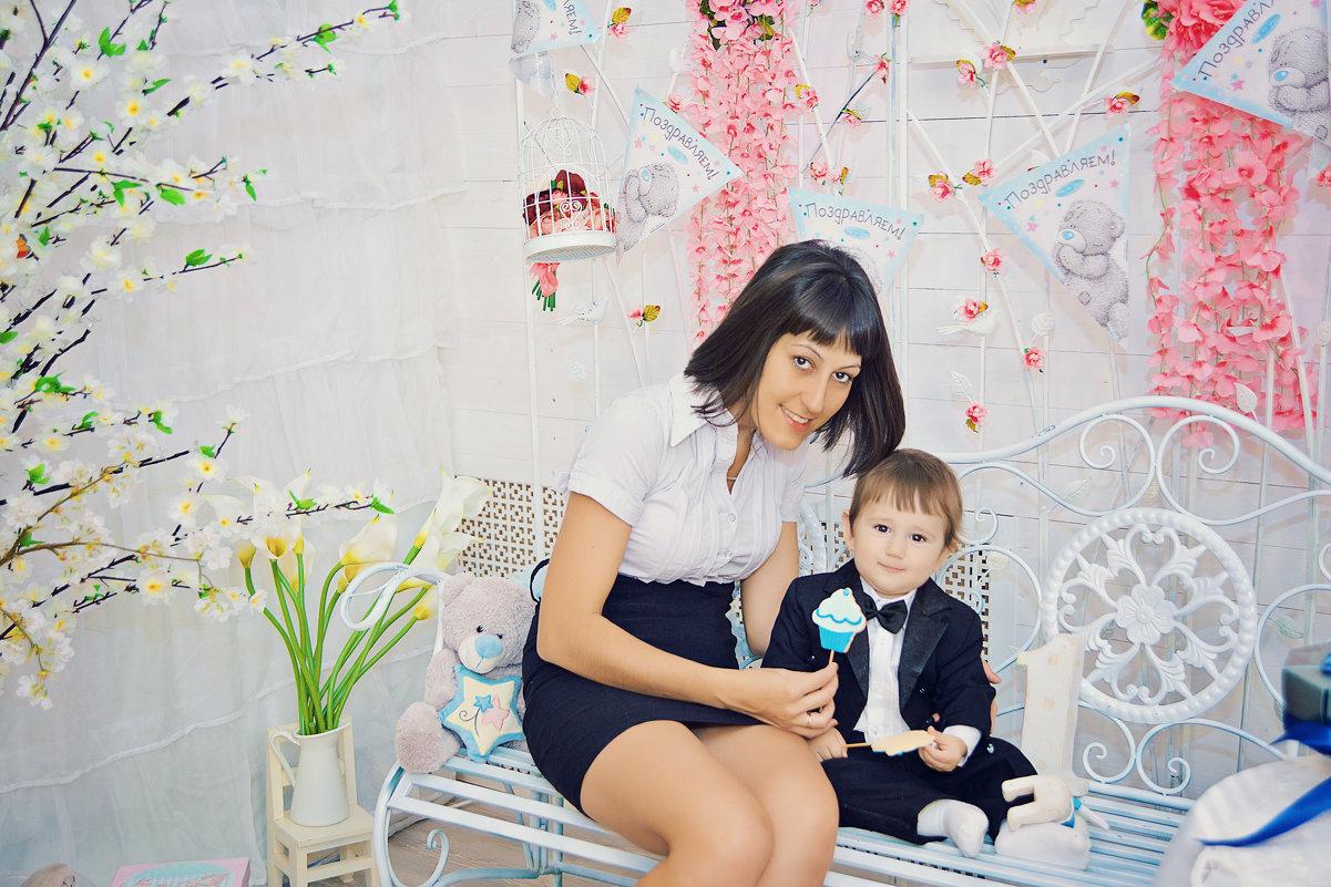 Фотосессия мамы и сына - марина алексеева