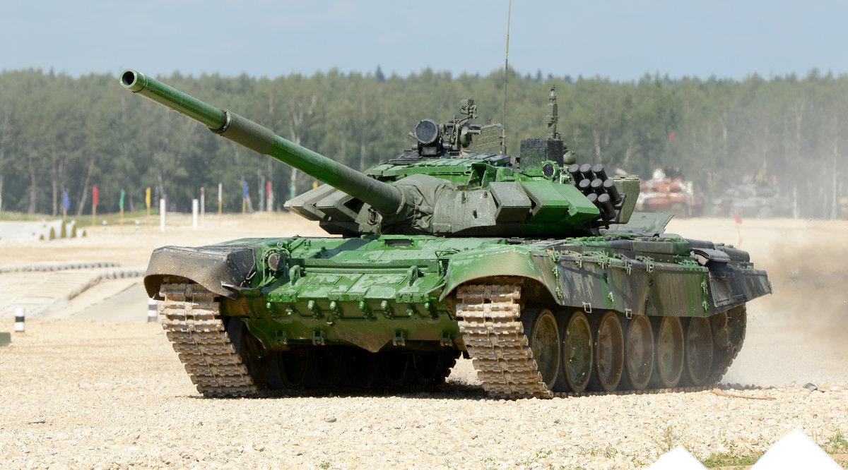 Танковый Биатлон - Олег Савин