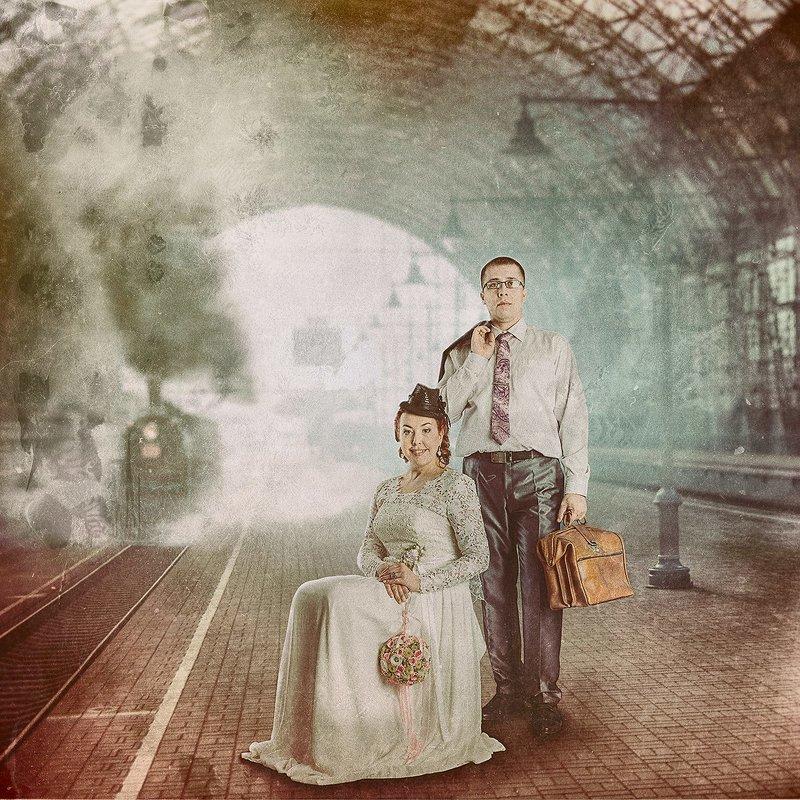 На вокзале - Сергей Зубарев