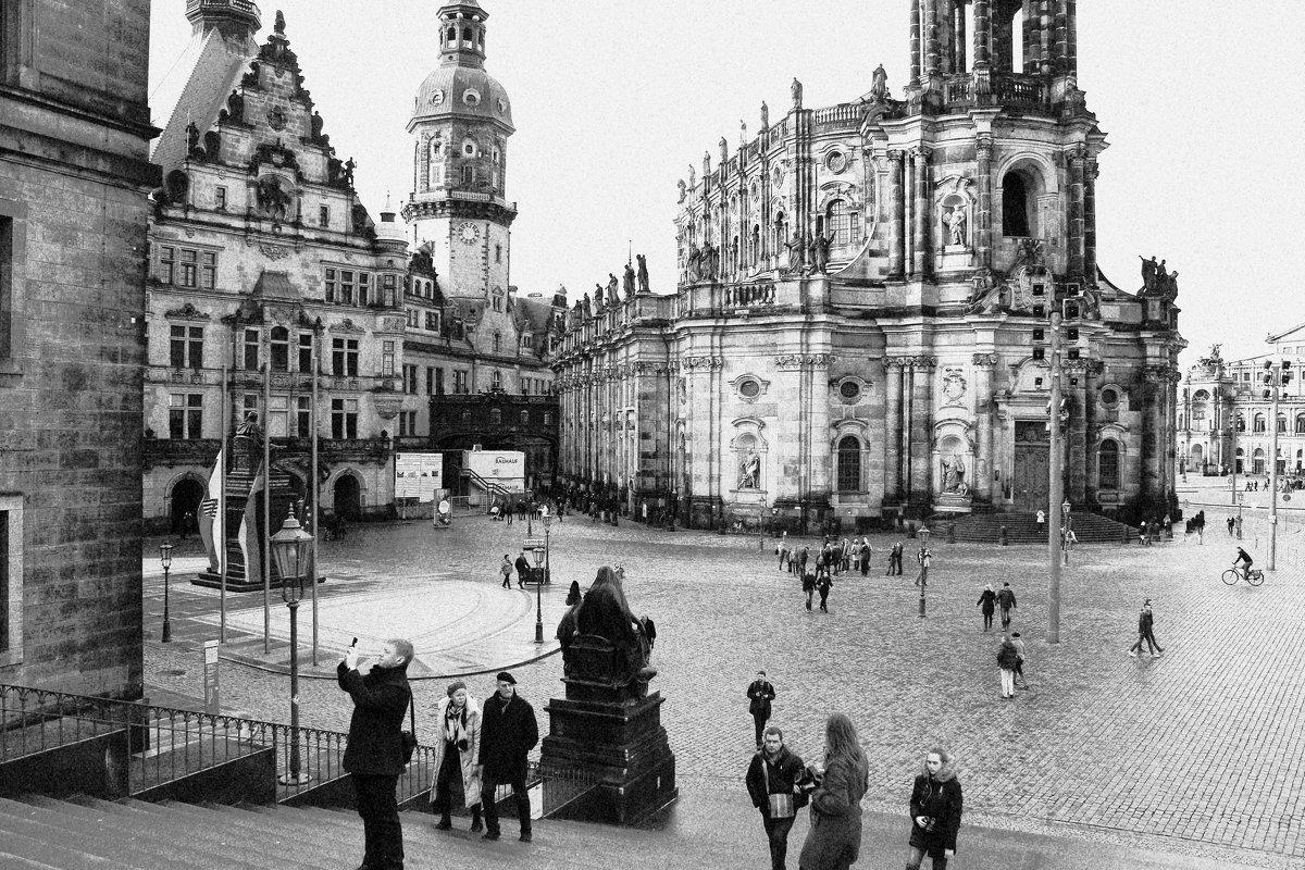 В  Дрездене - Наталья Казанцева